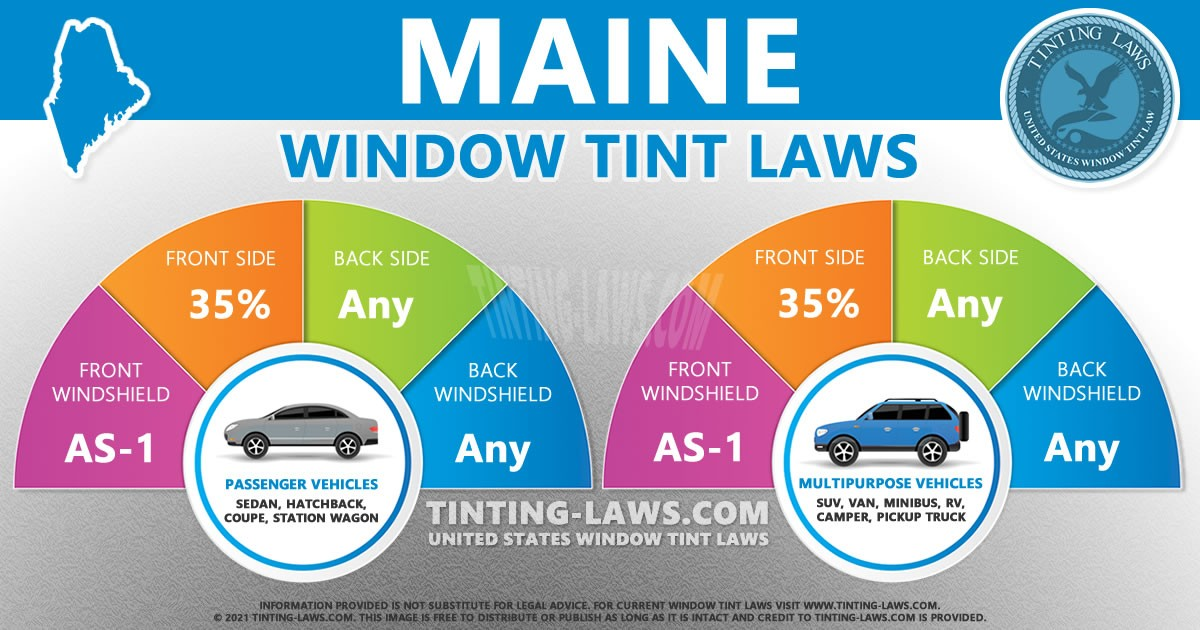 Maine Tint Laws