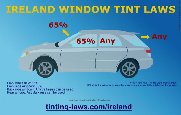 Ireland Window Tint Laws